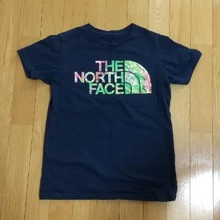 THE NORTH FACE - THE NORTH FACE ノースフェイス Tシャツ ネイビー ボタニカル M