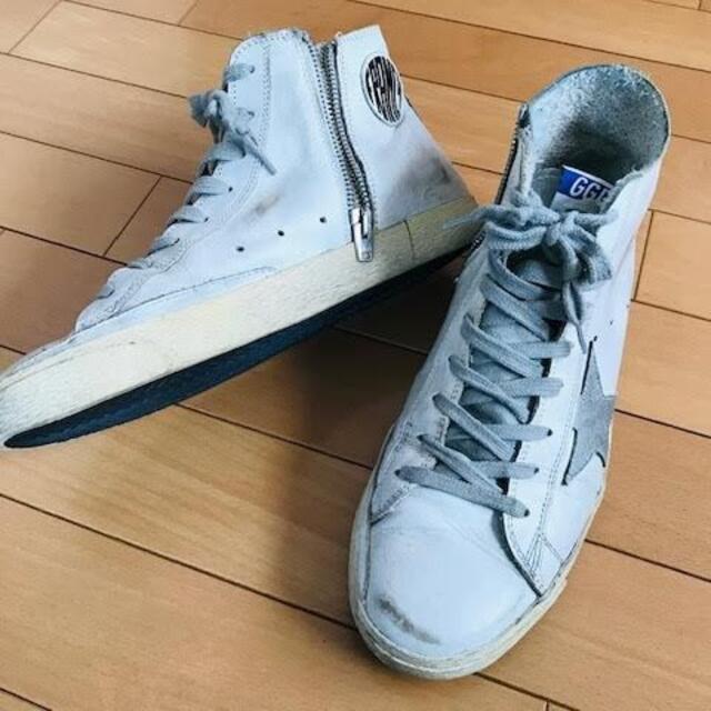 L'Appartement DEUXIEME CLASSE(アパルトモンドゥーズィエムクラス)のアパルトモン購入 GOLDEN GOOSE ハイカット ワンスター スニーカー  レディースの靴/シューズ(スニーカー)の商品写真