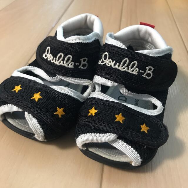 DOUBLE.B(ダブルビー)のダブルビー サンダル 13.0 キッズ/ベビー/マタニティのキッズ靴/シューズ(15cm~)(サンダル)の商品写真