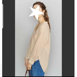 BEAUTY&YOUTH UNITED ARROWS - 2020ss 美品 beauty&y U. A  春夏  ブラウス トップス