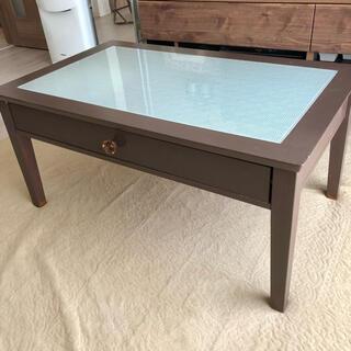 《直接引き取り限定》アンティーク センターテーブル ローテーブル 机(ローテーブル)