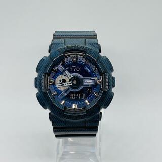 G-SHOCK - CASIO G-SHOCK 腕時計  GA-110DC デニム柄