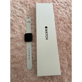 Apple Watch - Apple Watch SE GPSモデル 40mm ゴールドアルミニウムケース