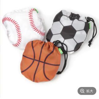 ニコアンド(niko and...)の新品 ニコアンド サッカー エコバッグ ボールパッカブルバック(エコバッグ)