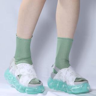 ミキオサカベ(MIKIO SAKABE)のmikio sakabe♡ jewelry sandal(スニーカー)