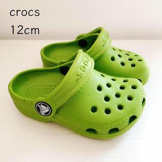 クロックス(crocs)のクロックス キッズ  サイズ 4C5C (12センチ)  美品(サンダル)