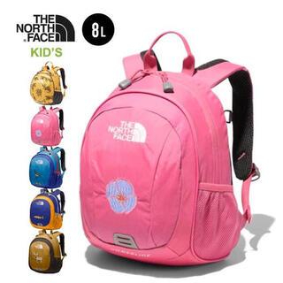 THE NORTH FACE - ノースフェイス キッズリュック8L ピンク