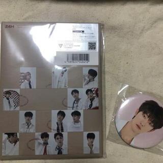 セブンティーン(SEVENTEEN)のSEVENTEEN 24H カラット盤 ディエイト缶バッジ(K-POP/アジア)