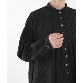 ネストローブ(nest Robe)のnest Robe リネン タック ブラウス シャツ(シャツ/ブラウス(長袖/七分))