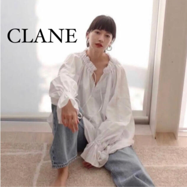 TODAYFUL(トゥデイフル)の【美品】CLANE 2way offshoulder bulky tops レディースのトップス(シャツ/ブラウス(長袖/七分))の商品写真