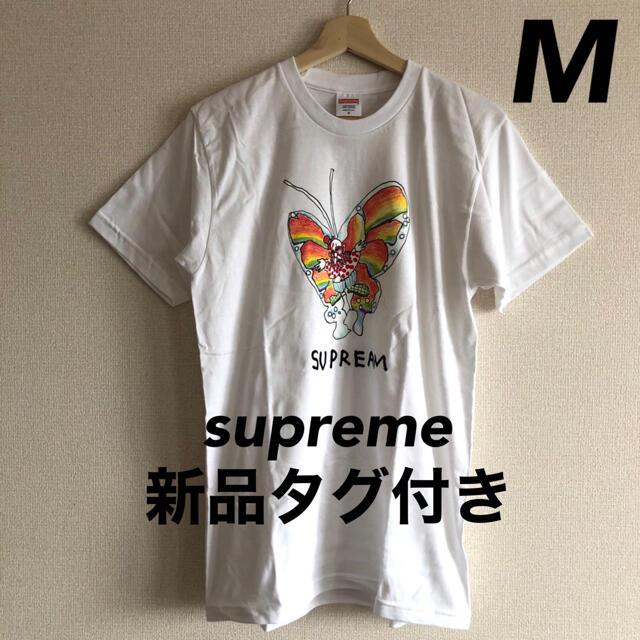 Supreme(シュプリーム)のsupreme シュプリーム Gonz Butterfly Tee 白/M メンズのトップス(Tシャツ/カットソー(半袖/袖なし))の商品写真