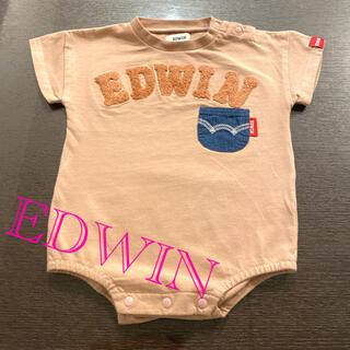 EDWIN - EDWIN半袖ロンパース👶🏼(70cm)