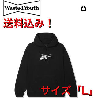 NIKE - WASTED YOUTH x Nike SB HOODY - BLACK L