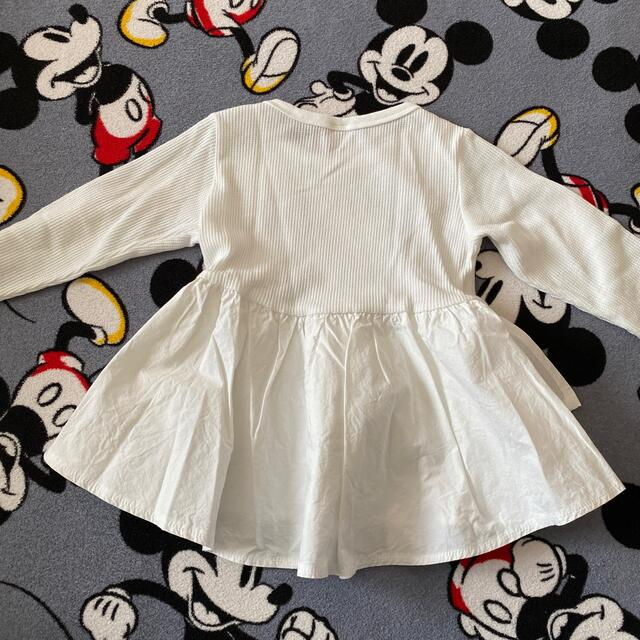petit main(プティマイン)のTシャツ 110センチ キッズ/ベビー/マタニティのキッズ服女の子用(90cm~)(Tシャツ/カットソー)の商品写真