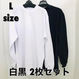SHAKA WEAR 白黒2枚セット MAX HEAVYWEIGHT ロンT(Tシャツ/カットソー(七分/長袖))