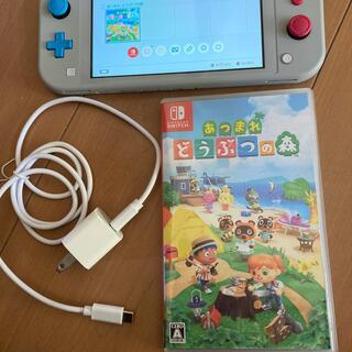 Nintendo Switch -  Nintendo Switch Liteマゼンタ本体 フルセット中古 動作品