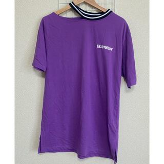 スピンズ(SPINNS)のtシャツ ロング丈(Tシャツ(半袖/袖なし))