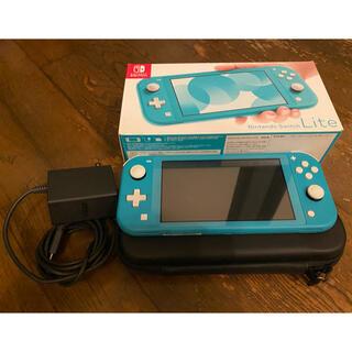 Nintendo Switch - ★にとさん専用 Nintendo Switch lite ターコイズ