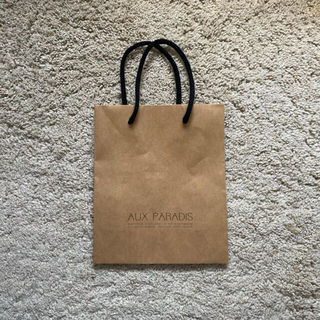 オゥパラディ(AUX PARADIS)のAUX PARADISショッパー(ショップ袋)