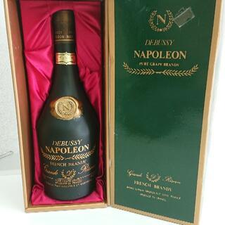 NAPOLEON DEBUSSY ナポレオン ドビュッシー ブランデー 箱入り(ブランデー)