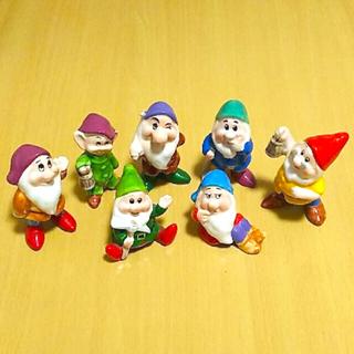 ディズニー(Disney)の概ね美品   7人の小人  陶器の置物  ディズニーランド購入(置物)