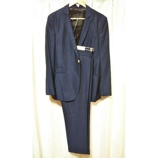 ZARA メンズ セットアップ スーツ ジャケット パンツ ネイビー