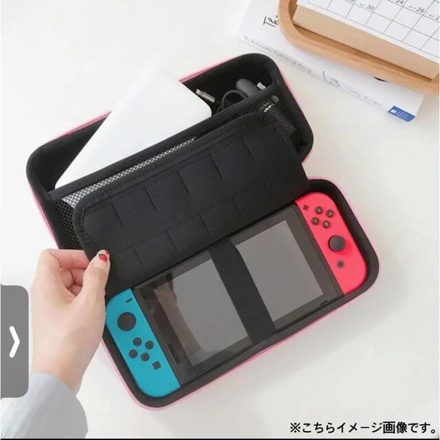【新品 未使用】Switch case✴︎ ダッフィー&フレンド(横並び)ピンク エンタメ/ホビーのゲームソフト/ゲーム機本体(その他)の商品写真