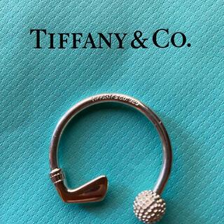 Tiffany & Co. - ティファニー sv925 シルバー キーホルダー チャーム ゴルフ