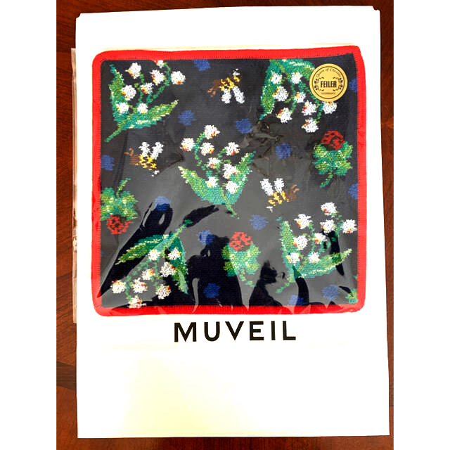 MUVEIL WORK(ミュベールワーク)のミュベールコラボ フェイラー MUVEIL×FEILER コラボ ハンカチ レディースのファッション小物(ハンカチ)の商品写真