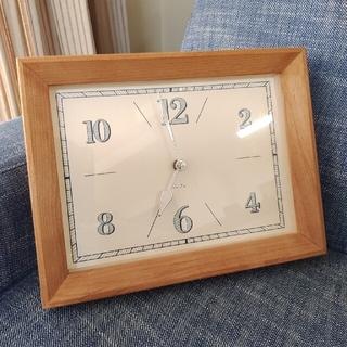 ウニコ(unico)のモモナチュラル 掛け時計(掛時計/柱時計)