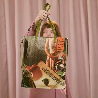 RAF SIMONS - [新品/即発送] film photo tote bag#No.21 Green