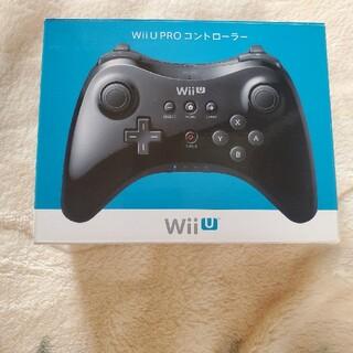 WiiU PRO コントローラー 黒(家庭用ゲーム機本体)