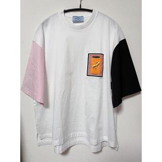 プラダ(PRADA)のPRADAオーバーサイズTシャツ(Tシャツ(半袖/袖なし))