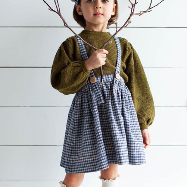 Caramel baby&child (キャラメルベビー&チャイルド)のsoor ploom picnic mavis skirt 6-7y キッズ/ベビー/マタニティのキッズ服女の子用(90cm~)(スカート)の商品写真