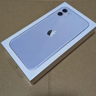 アイフォーン(iPhone)の【新品未開封】 iPhone11 パープル SIMフリー (スマートフォン本体)