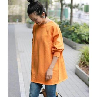 JOURNAL STANDARD - JOURNAL STANDARDrelume 30TCRロングスエット オレンジ