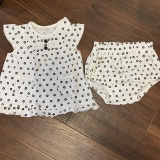 ニシマツヤ(西松屋)の西松屋セットアップ70(Tシャツ)