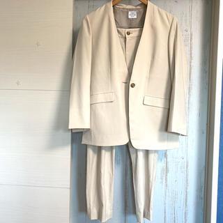 コーエン(coen)のcoen セットアップ ノーカラージャケット スーツ(セット/コーデ)