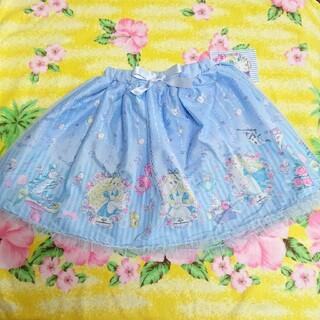 シマムラ(しまむら)のしまむら♥エコネコ♥アリス♥チュールスカート♥ブルー♥120cm(スカート)