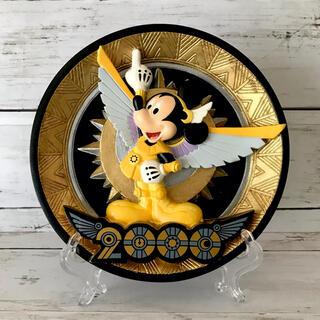 ディズニー(Disney)の【TDL】2000年記念プレート(置物)