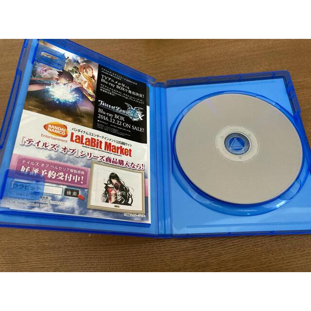 PlayStation4(プレイステーション4)のテイルズ オブ ベルセリア PS4 エンタメ/ホビーのゲームソフト/ゲーム機本体(家庭用ゲームソフト)の商品写真