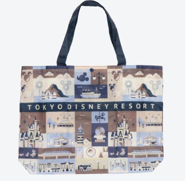 Disney(ディズニー)の新作♡ ディズニーリゾート エコバッグ ショッピングバッグ レディースのバッグ(エコバッグ)の商品写真