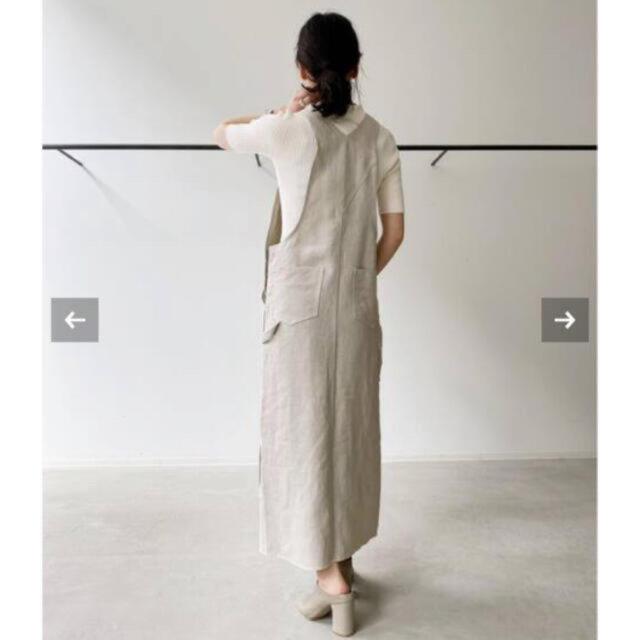 L'Appartement DEUXIEME CLASSE(アパルトモンドゥーズィエムクラス)のUNION LAUNCH Linen Over All skirtユニオンランチ レディースのパンツ(サロペット/オーバーオール)の商品写真