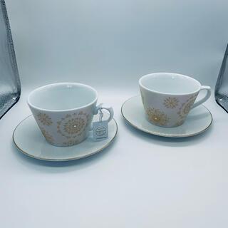 AfternoonTea - カップ&ソーサー Afternoon Tea スワロフスキ コーヒーカップ