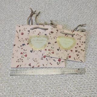 レメルヴェイユーズラデュレ(Les Merveilleuses LADUREE)のラデュレ ショッパー(ショップ袋)