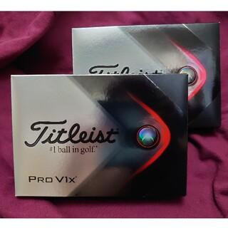 タイトリスト(Titleist)のタイトリスト PRO  V1X  ゴルフボール 2ダースセット(その他)