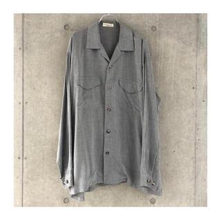 イッセイミヤケ(ISSEY MIYAKE)のISSEY MIYAKE  open collar shirt(シャツ)