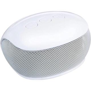 ELECOM - スマホ用ワイヤレススピーカー ホワイト Bluetooth対応 8時間 10m