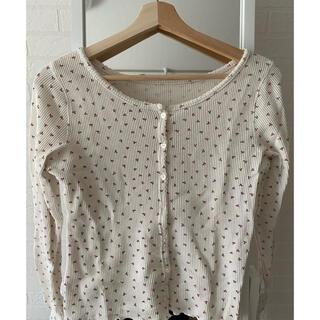 ナイスクラップ(NICE CLAUP)のサーマルプリントシャツ(Tシャツ(長袖/七分))