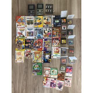 ゲームボーイ(ゲームボーイ)のゲームボーイ GAMEBOY ニンテンドー ソフト 本体ジャンク品(携帯用ゲームソフト)